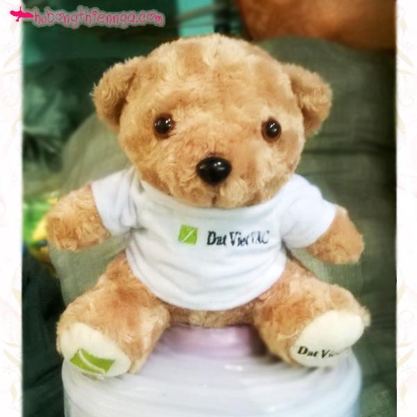 Gấu bông quà tặng ruột bông gòn tinh khiết